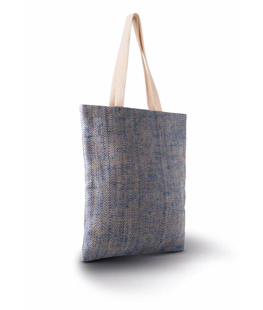 Kimood 100% Natural Yarn Dyed Jute Bag