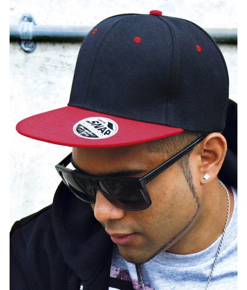 Result Headwear Bronx Original Flat Peak Snap Back Dual