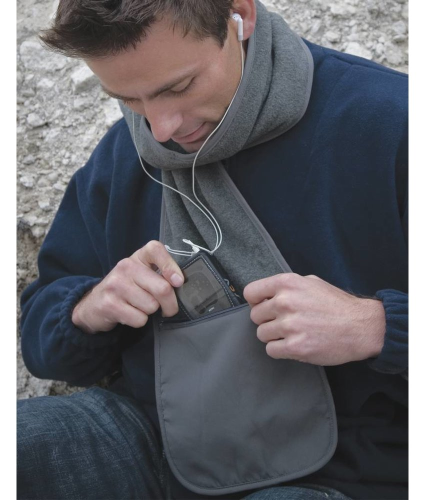 Result Winter Essentials Fleece Scarf with Pocket