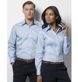 Kustom Kit Women's Contrast Premium Oxford Blouse LS