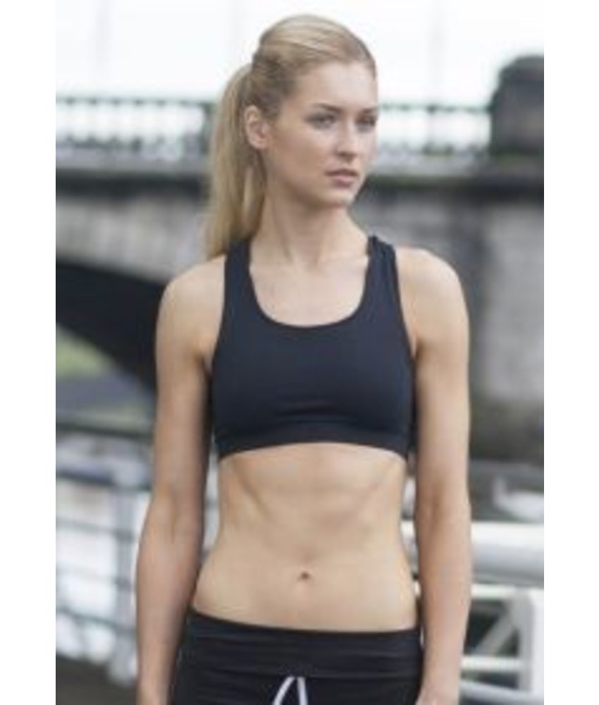 Skinni Fit Ladies Fitted Crop Top