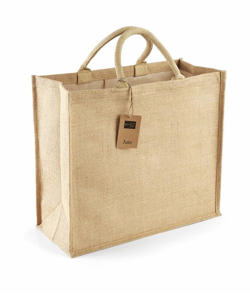 Westford Mill Jumbo Jute Shopper Natural