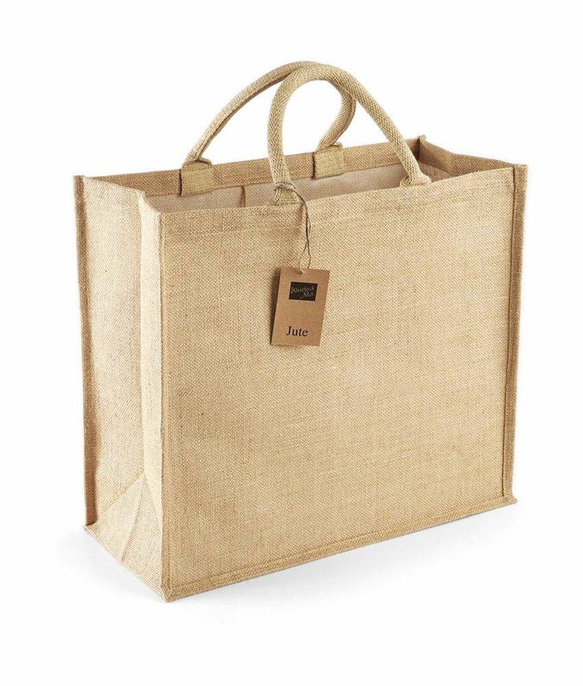 Westford Mill Jumbo Jute Shopper Natural