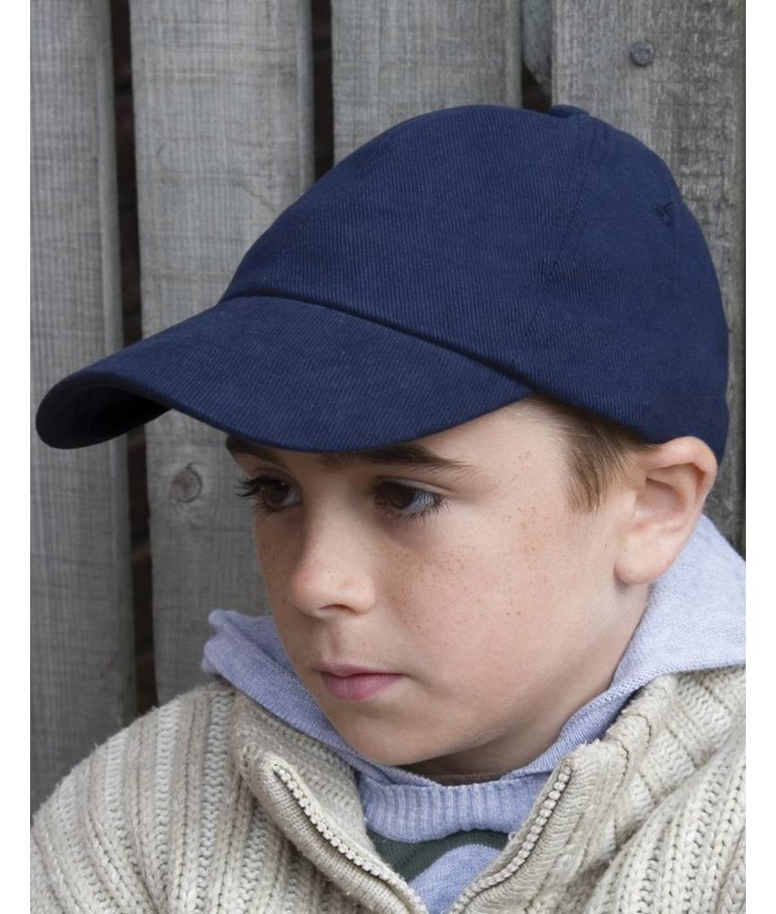 Result Headwear Kids Brushed Cotton Cap