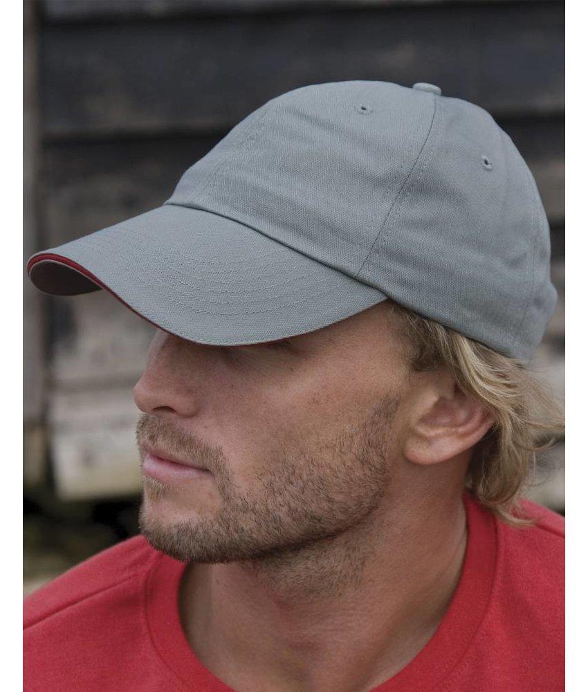 Result Headwear Herringbone Cap