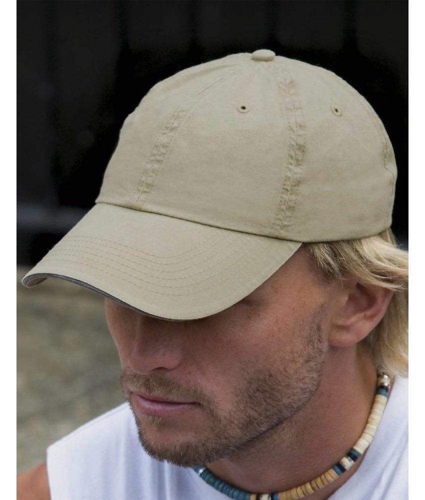 Result Headwear Fine Cotton Twill Cap