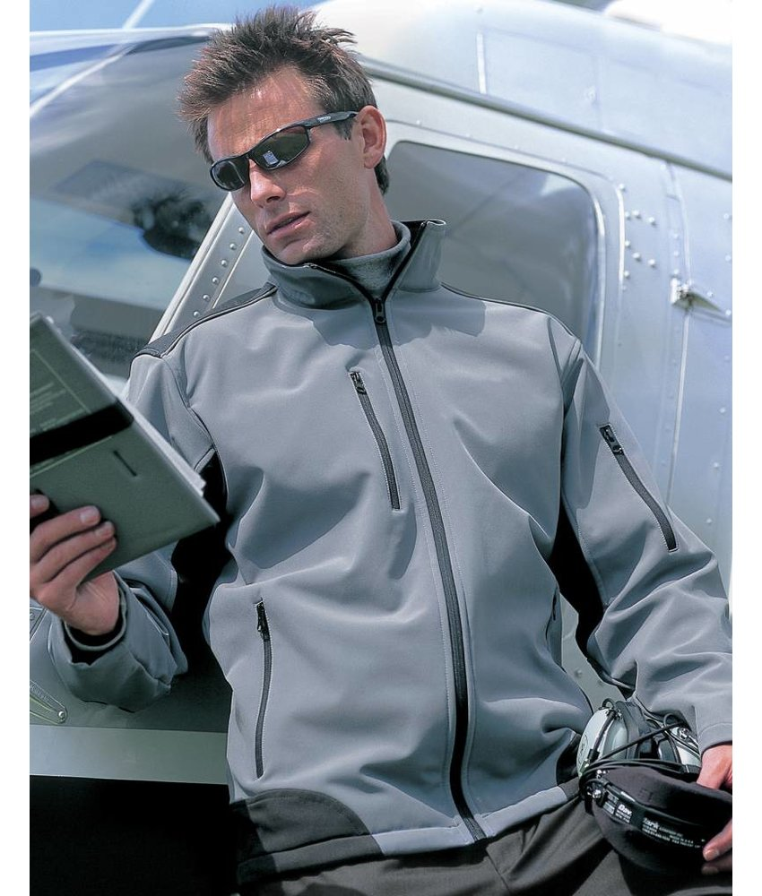 Result Work-Guard Ripstop Soft Shell Work Jacket