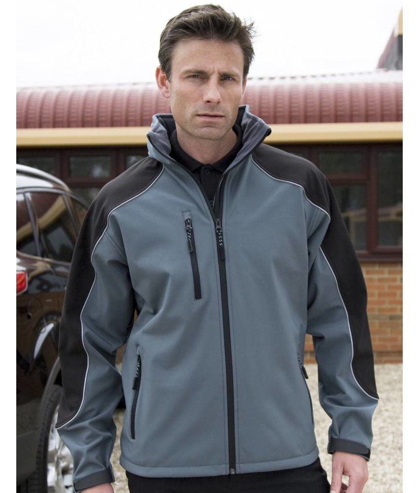 Result Work-Guard Ice Fell Hooded Softshell Jack