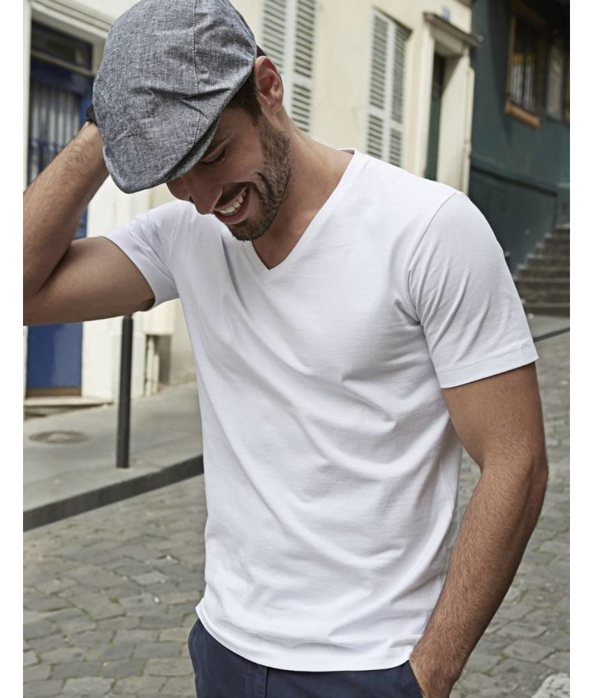 Tee Jays Mens Fashion V-Neck Soft T-Shirt