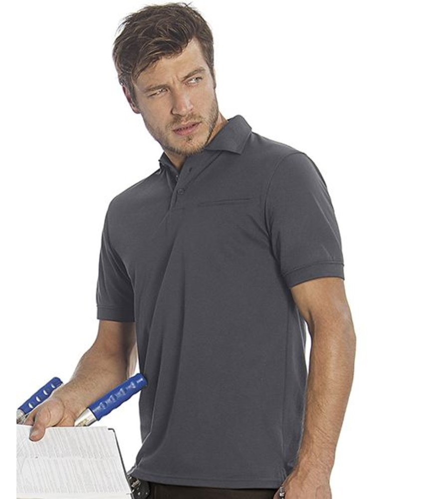 B&C Pro Workwear Blended Pocket Polo