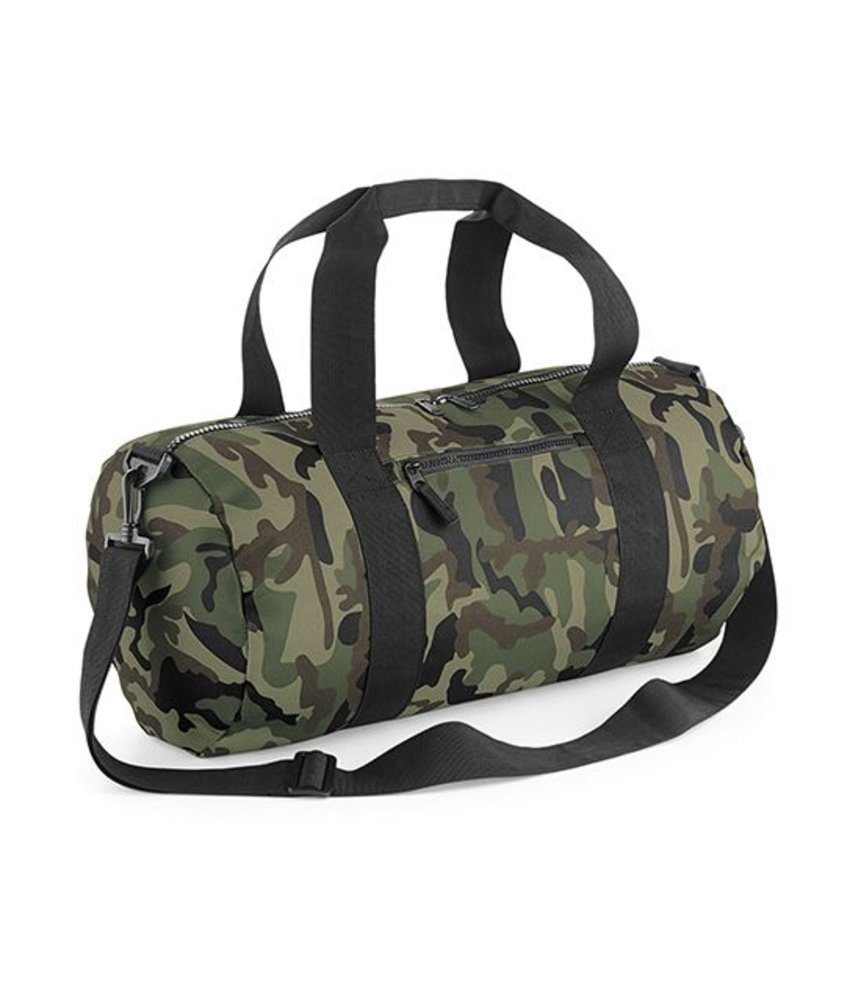 Bag Base Camo Barrel Bag