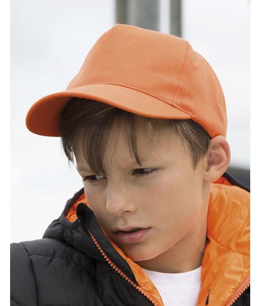Result Headwear Junior Boston Printers Cap