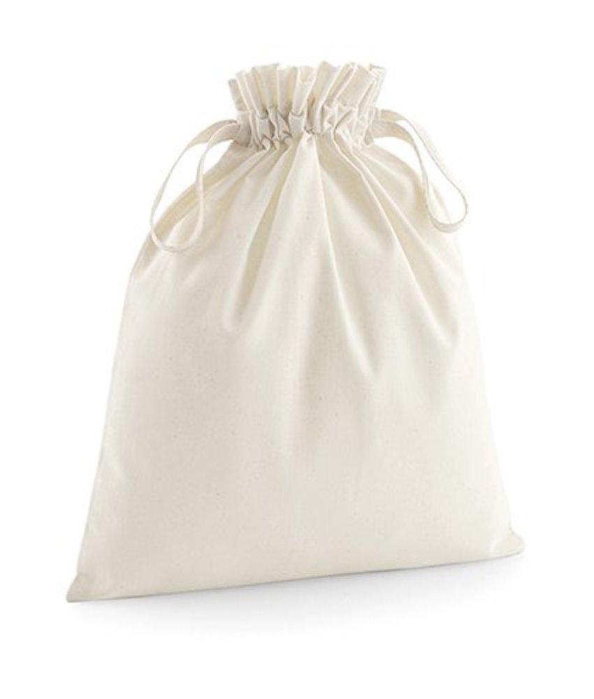 Westford Mill Organic Cotton Drawcord Bag