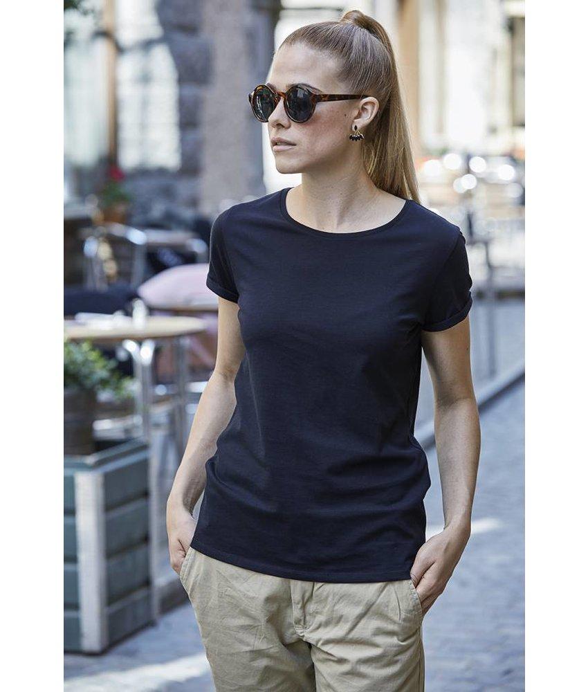 Tee Jays Ladies Roll-Up T-Shirt