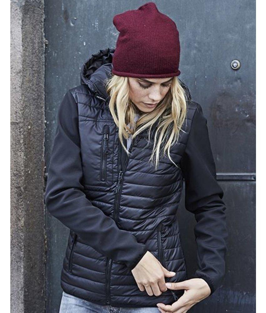 Tee Jays Ladies' Hooded Crossover Jacket
