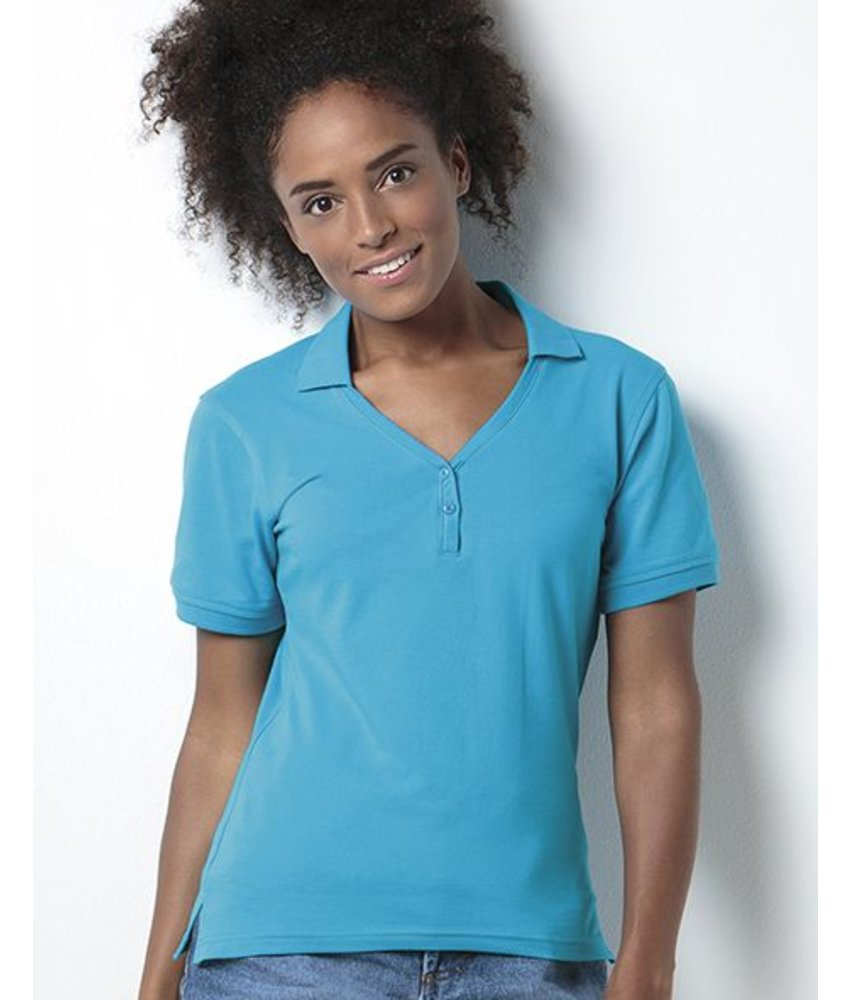 Kustom Kit Sophia V-Neck Polo