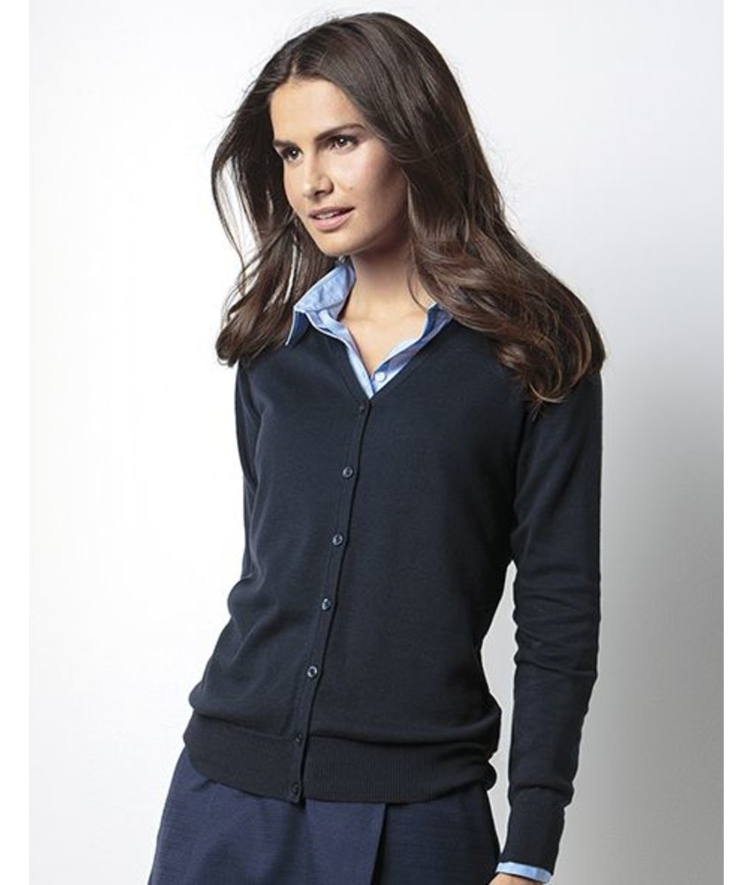 Kustom Kit Women's Arundel V-Neck Cardigan