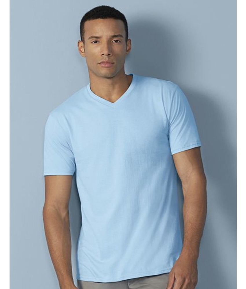 Gildan Premium Cotton Adult V-Neck T-Shirt