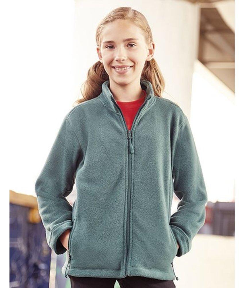 Russell Kids Full Zip Outdoor Fleece