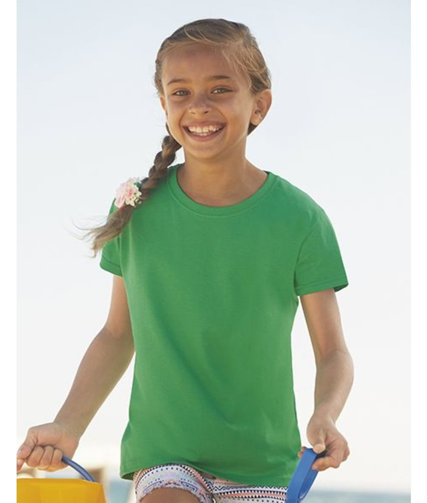Fruit of the Loom Girls Value Weight T-Shirt