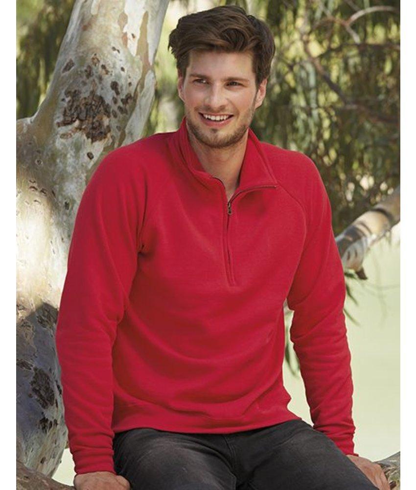 Fruit of the Loom Zip Neck Sweater