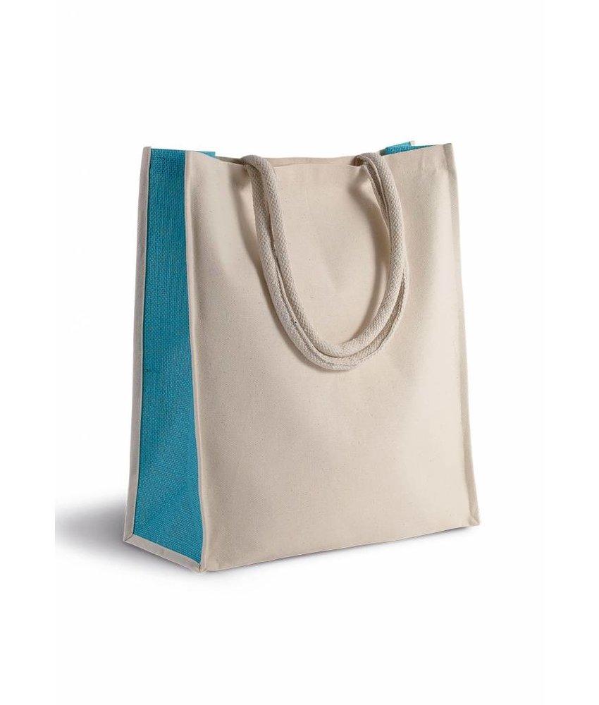 Kimood Shopper van katoen/jute - 23 L