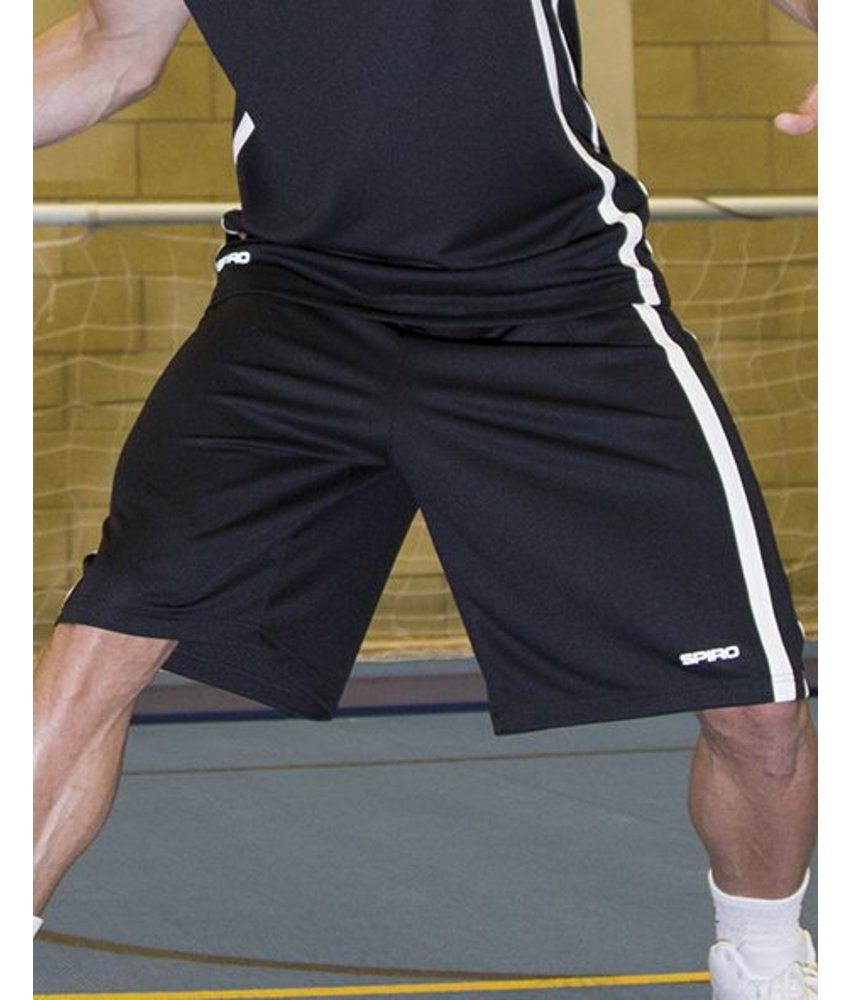 Spiro Basketball Men's Quick Dry Korte Broek