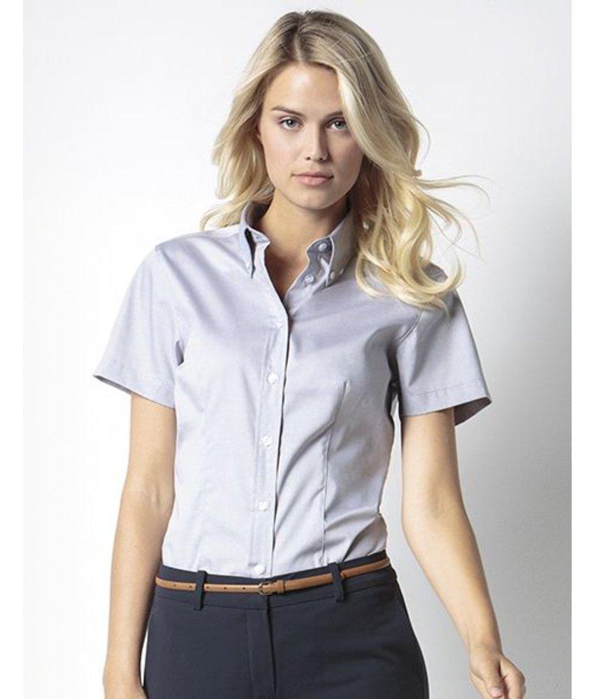 Kustom Kit Ladies Corporate Oxford Blouse