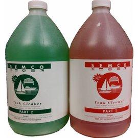 set semco teak cleaner 3,789 liter