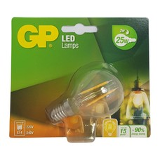 GP LED Filament Mini Globe 2W