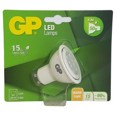 GP LED Reflector GU10 5.3W