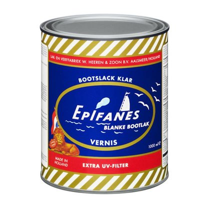 Epifanes Bootlak Blank / Vernis met extra UV filter