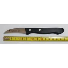 8332 Friedrich Herder schil of tourneermesje - 6cm gebogen