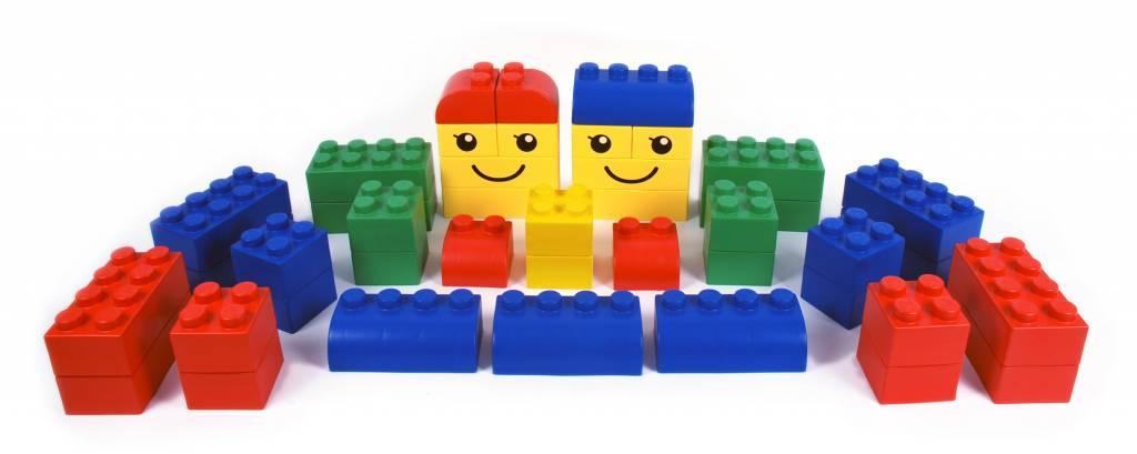 large lego blocks kinderspell. Black Bedroom Furniture Sets. Home Design Ideas
