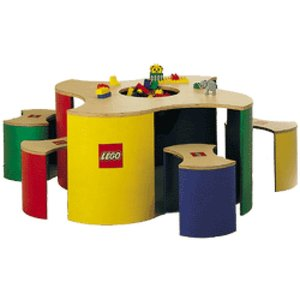 LEGO Play Table with stools