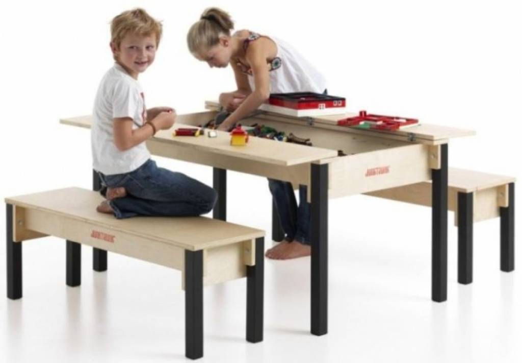Children S Play Table With Storage Kinderspell