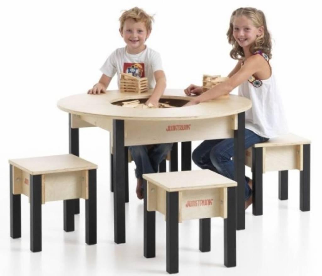 Table ronde pour enfants jeu d 39 enfant for Table de chevet pour enfant