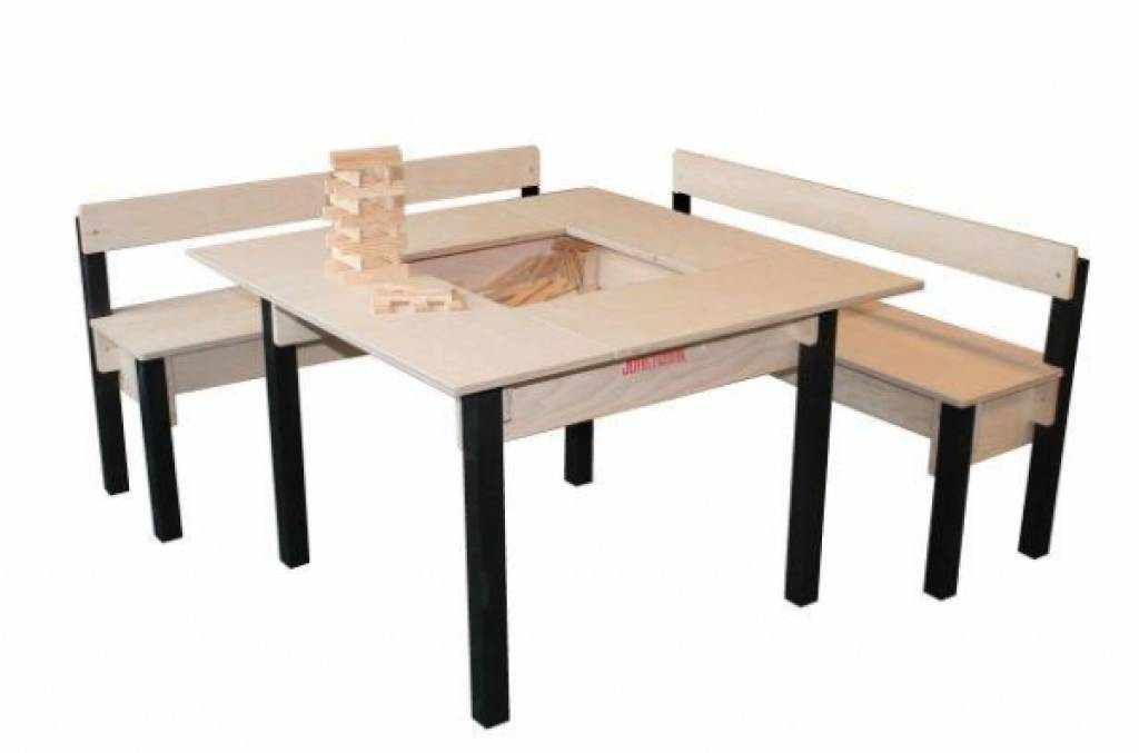 Kids play table with storage kinderspell - Table enfant avec rangement ...