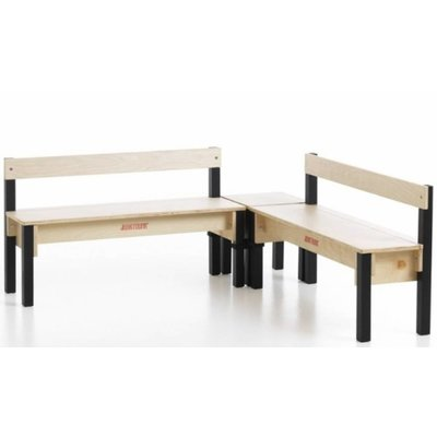 Child's Bench with Backrest