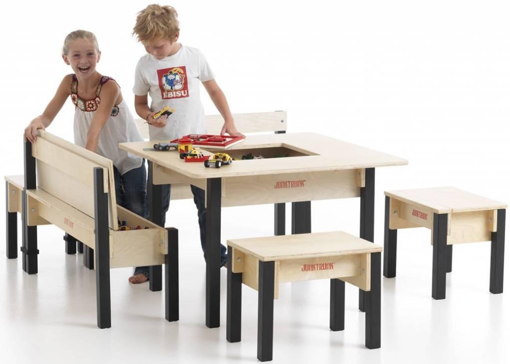 mobilier de jeux en bois pour aire de jeux interieur meubles de jeux table bureau jeu d. Black Bedroom Furniture Sets. Home Design Ideas