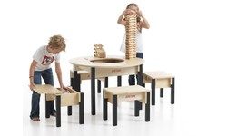 Play Table With Storage   Large Wooden Play Table