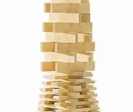 Kapla wooden blocks