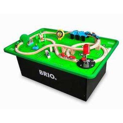Brio train table set