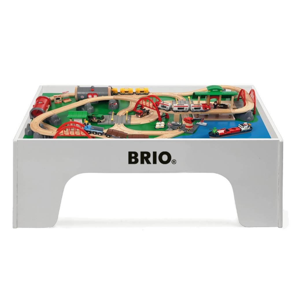 Brio wooden train table  KinderSpell ~ Brio Train Bois