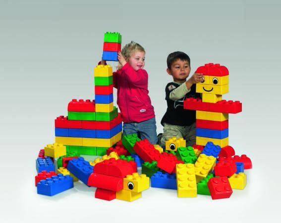 Giant Lego Blocks Kinderspell