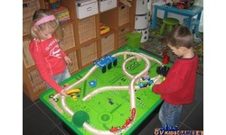 Table de jeux train