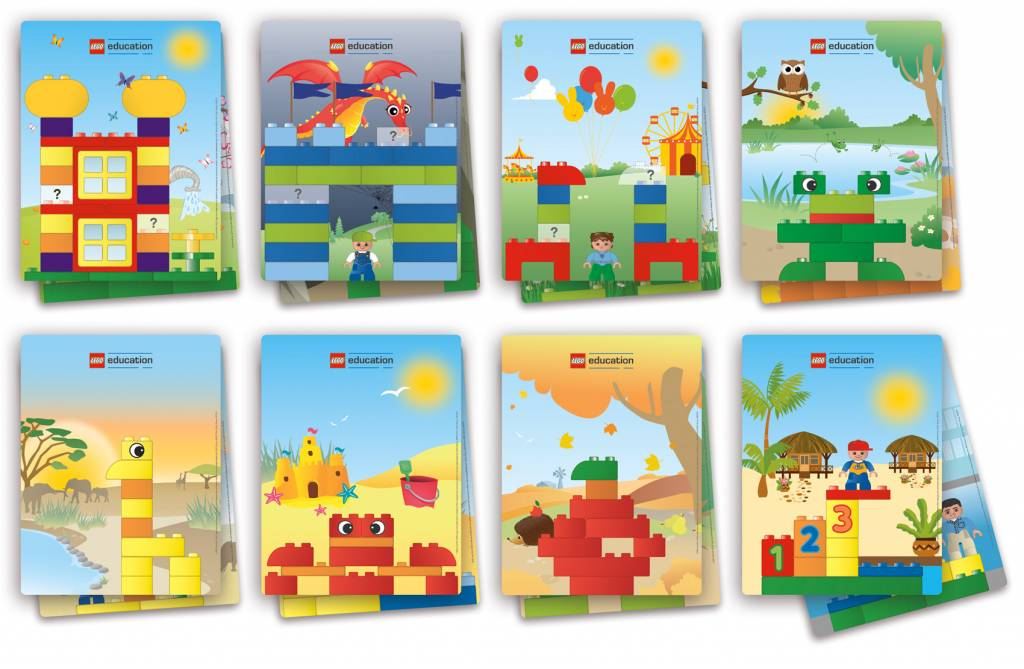Duplo building cards kinderspell - Modele de construction lego ...