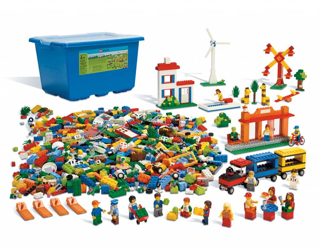 lego grande bo te de briques lego jeu d 39 enfant. Black Bedroom Furniture Sets. Home Design Ideas