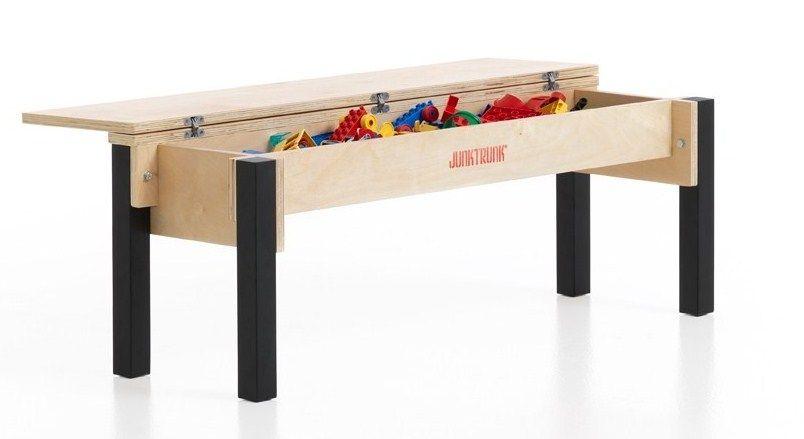 kindersitzbank mit truhe kinderbank aus holz mit truhe kinderspiel. Black Bedroom Furniture Sets. Home Design Ideas
