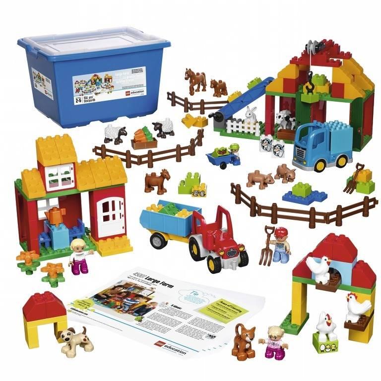 LEGO DUPLO Farm Set - LEGO Education DUPLO farm building set 150 ...